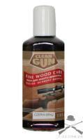 Масло для дерева Clean Gun темнокрасное 100 мл