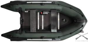 Надувная лодка Т320К (килевая, 3 чел, 5-10 л.с.)