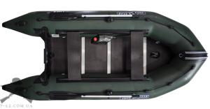 Надувная лодка Т340К (килевая, 4 чел, 10-15 л.с.)