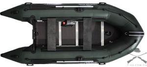 Надувная лодка Т360К (килевая, 5 чел, 10-15 л.с.)