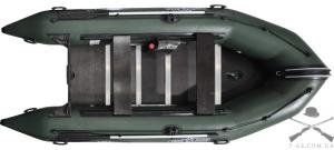 Надувная лодка Т430К (килевая, 7 чел, 15-20 л.с.)