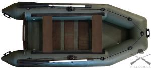 Надувная лодка Т-280 (сланцевая, 2 чел, 3 л.с.)