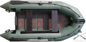 Надувная лодка Т-300 (сланцевая, 3 чел, 3 л.с.)