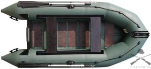 Надувная лодка Т-320 (сланцевая, 3 чел, 5 л.с.)