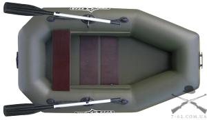 Надувная лодка К-225 (гребная, 1 чел)