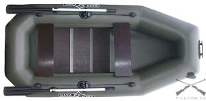 Надувная лодка К-255 (гребная, 2 чел)