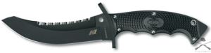Нож Spyderco Warrior, Black Blade, H1