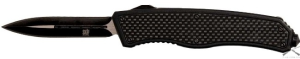 Нож SKIF 265C stiletto blade 440С, Carbon fiber ц:черный