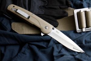 Нож туристический Biker-Z Полированный 440C, Kizlyar Supreme