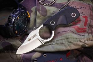 Нож туристический Amigo-X Полированный D2, Kizlyar Supreme