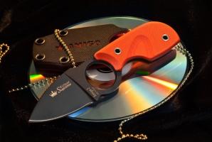 Нож туристический Amigo-Z Черный AUS-8, Kizlyar Supreme