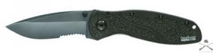 Нож складной RESCUE BLUR black blade Serrated Kershaw