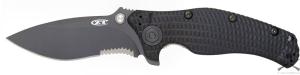Нож ZT FOLDER 0200ST, полусеррейтор