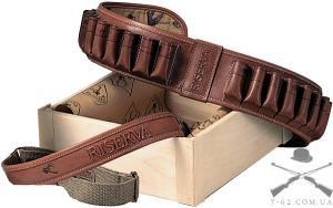 Комплект Riserva Патронташ+ремень кал.12 26 отд. кожа,кордура   R6000281
