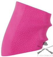 Накладка на рукоять  Hogue Handall  резиновая, большая, розовая