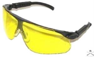 Очки ALLEN для спортивной стрельбы пластиковые с желтым светофильтром