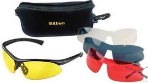 Очки ALLEN Pro Class для спорт.стрельбы, пластик,4- | 2275
