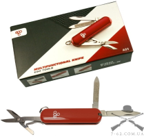Нож Ego tools A03 брелок красный