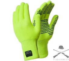 Перчатки тактические водонепроницаемые Dexshell TouchFit HY S салатовые