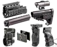 Набор тактический CAA продвинутый для АК-47: цевье с  Pikatinny, крепление для фонаря, спарка магазинов, тактическая рукоятка, пистолетная рукоятка