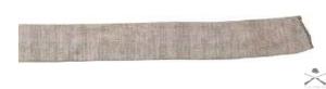 Чехол Allen эластичный серый, длина 132 см