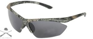 Очки стрелковые пластиковые Allen Shooting Glasses для спортивной стрельбы с дымчатым светофильтром
