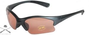 Очки стрелковые пластиковые Allen Shooting Glasses для спортивной стрельбы с янтарным светофильтром