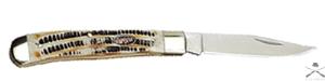 Нож Tekut MK 5007-GT Trapper, 4 дюйма, подарочная упаковка, бархатный чехол