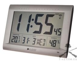 Часы настенные La Crosse WS8009-SIL