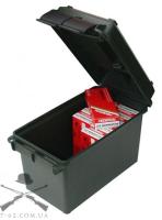 Ящик MTM пластиковый для патронов калибра 50 BMG, зеленый