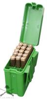Кейс MTM Belt Carrier R-20 для патронов калибра 222Rem - 222 Mag, зеленый, на 20 штук