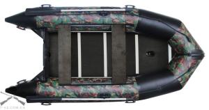 Моторная лодка с жестким дном и надувным кильсоном K-370 (базовая)