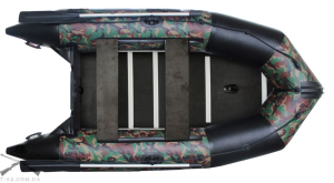 Моторная лодка с жестким дном и надувным кильсоном K-350 (базовая)
