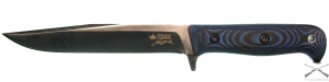 Нож туристический Intruder Сатин 440C, рукоятка микарта, Kizlyar Supreme