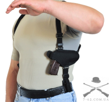 Кобура синтетическая плечевая/поясная без скобы