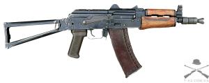 Аренда макета оружия автомата Калашникова АКС-74У