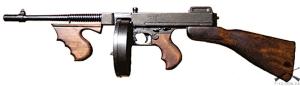Аренда макета оружия Пистолета-пулемета Томпсона | 1092
