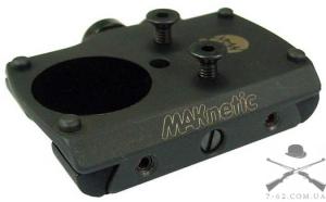 Крепление MAKnetic для прицела Docter Sight на планку 12 мм