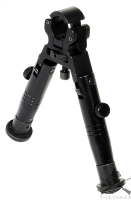 Сошки Leapers, высота центра 130 мм, под стволы диаметром 11-19 мм