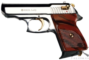 Пистолет сигнальный Ekol Lady хромированный