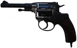 Револьвер Флобера Наган ГРОМ 4мм