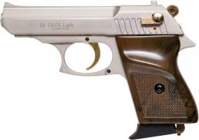 Пистолет сигнальный Ekol Lady сатин с позолотой