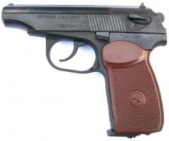 Пистолет пневматический Baikal МР-654К 4,5мм обновленный