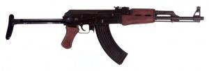 Макет Автомат АК-47 со складным прикладом | 1097