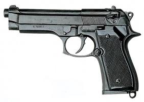Макет Пистолет Beretta 92F | 1254