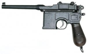 Макет Пистолет Маузер калибр 7,63, 1898 год Германия | 1024