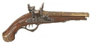 Макет Пистолет Наполеона двуствольный, 1806 год   |1026