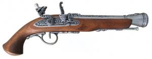 Макет Пистолет кремниевый, XVIII век   1076G