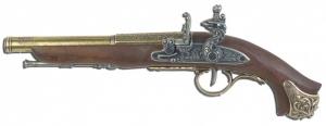 Макет Пистолет кремниевый , XVIII век | 1075G