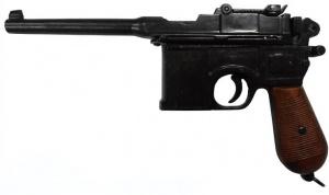 Макет Пистолет Маузер калибр 7,63, 1898 год Германия, деревянная рукоять | М-1024